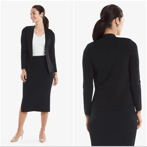 MM LAFLEUR | Black Woolf Jardigan Stretch Jacket S